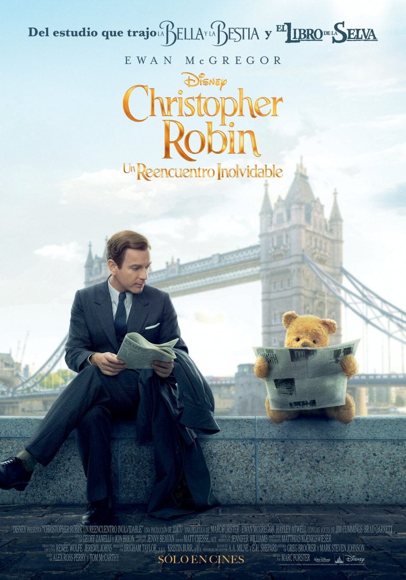 Перейти к просмотру Кристофер Робин / Christopher Robin (2018) BDRip 1080p [HEVC] 10bit