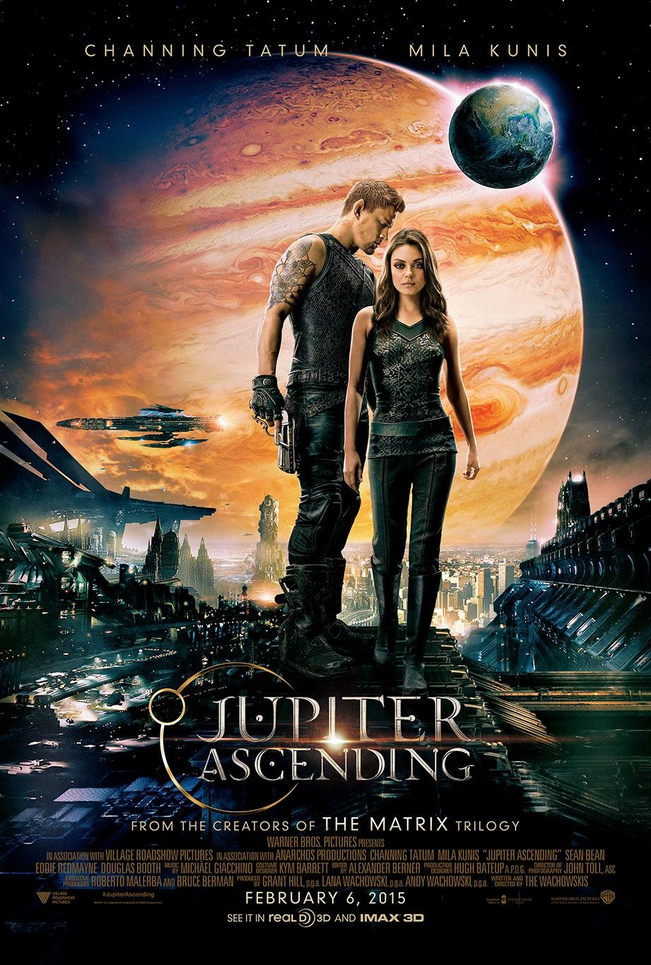 Перейти к просмотру Восхождение Юпитер / Jupiter Ascending (2015) BDRip 1080p [HEVC] от Tigole